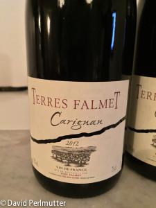 Teres Falmet Carignan 2012