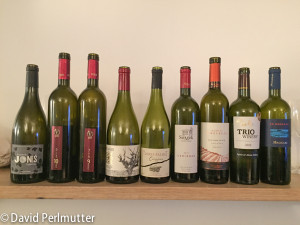 Wines Tasted at the Carignan Tasting