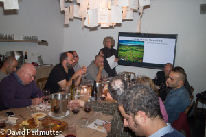Elizabeth Gabay MW Describing Carignan in Landuedoc-Rousillon