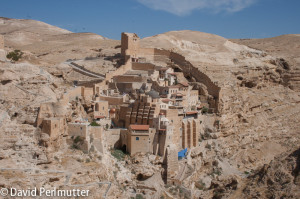 View of Mar Saba Monastery