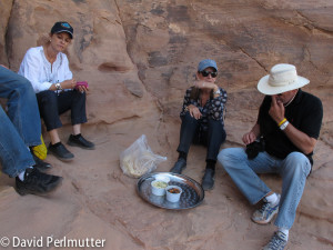 Lunch in Wadi Rum