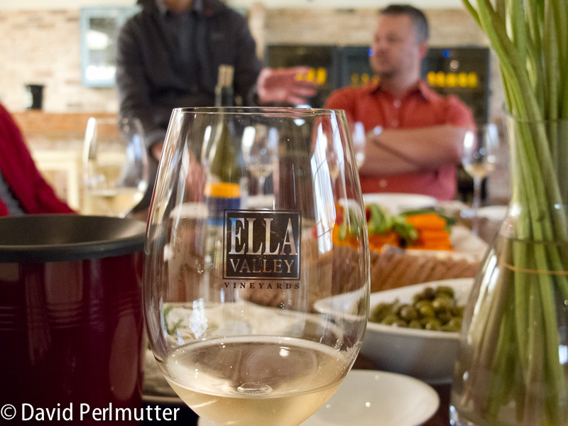 Wine Tasting at Ella Valley Vineyards